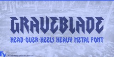 Graveblade - Webfont & Desktop font « MyFonts