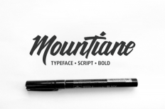 MounTiane Typeface (30% off) ~ Script Fonts on Creative Market