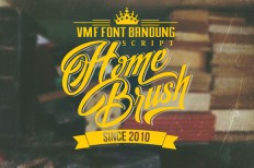 Home Brush ~ Script Fonts on Creative Market