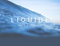 LIQUIDE - Free Typeface on