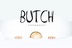 Butch [Free Marker Typeface] on