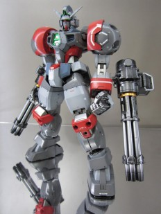 GUNDAM GUY: MG 1/100 Juggernaut [Titus Heavy Arms] - Custom Build