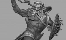 ArtStation - Zeus vs Indra, Gurjeet singh