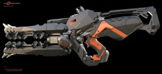 ArtStation - Gun for Bosskey's LawBreakers , Reno Levi