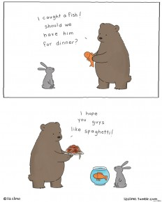 The Wonderfully Mundane Lives Of Animals, Captured By Simpsons' Animator Liz Climo