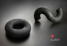 """Portable Bluetooth speaker """"AeroTwist"""" on ID Magazine"""