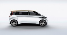 volkswagen launches electric microbus BUDD-e at CES 2016