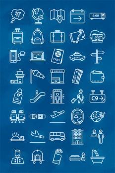 Freebie: Voyage Icon Set (40 Icons, AI, EPS, SVG, PNG) – Smashing Magazine