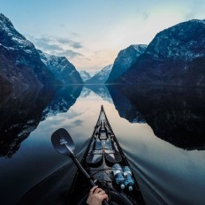 Breathtaking Photos Of Norwegian Fjords By Kayaker Tomasz Furmanek