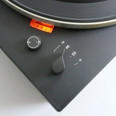 Dieter Rams — Detail of the Braun PS 500 (1968) by Dieter Rams