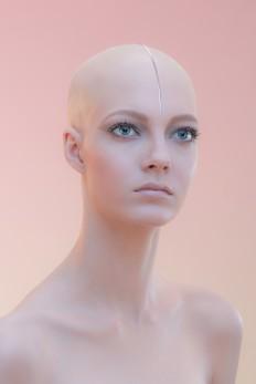 Wonderzine. Nude makeup on
