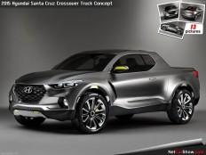 Hyundai Santa Cruz Crossover Truck Concept (2015) picture #01, 1280x960