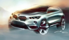 2016 BMW X1 - Design Sketch - Car Body Design