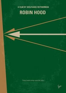 No237 My Robin Hood minimal movie poster Art Print by Chungkong   Society6