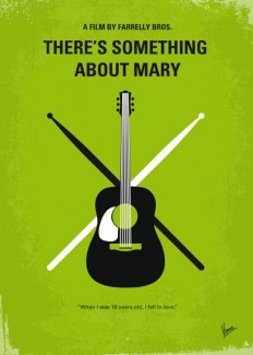 No286 My There's Something About Mary minimal movie poster Art Print by Chungkong | Society6