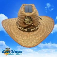 Men's Cowboy w. Band Solar Cooling Hat UPF 50+protection | hat | Pinterest