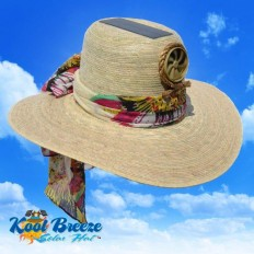 Lady's Floppy w./ Scarf Solar Cooling Hat UPF 50+ Protection | hat | Pinterest