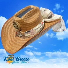 Cowgirl w/ Scarf Solar Cooling Hat UPF 50+ Protection | hat | Pinterest