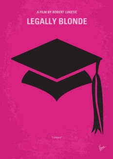No301 My Legally Blonde minimal movie poster Art Print by Chungkong | Society6