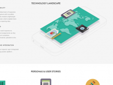Website Infographic by Gev Marotz