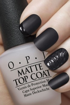 Matte Nail Art on Inspirationde