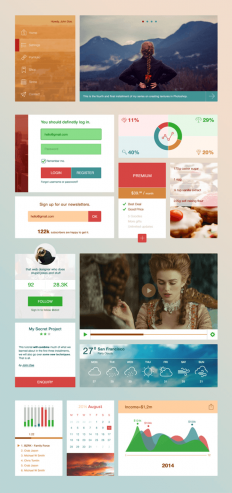 Made For Designers - Breezy UI Kit