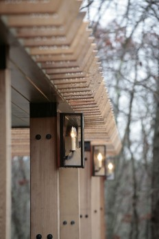 Vanity Exposition. — visuxlinfinity: harbor house in the woods by...