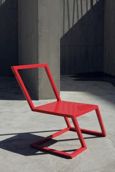 Sit On the Edge of Your Seat with the 60 Red Chair in main home furnishings Category in Furnitures & Lighting