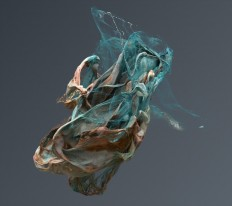 Sculptures created in Houdini on Inspirationde