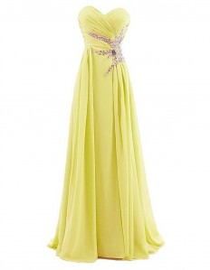 Amazon.com: Dresstells® Sweetheart Beading Floor-length Chiffon Prom Dress Evening Gown: Clothing
