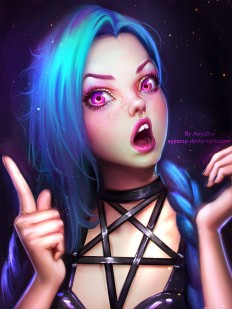 Jinx by AyyaSap on DeviantArt