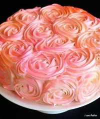 Party Planning / Rose Cake, frosting tips