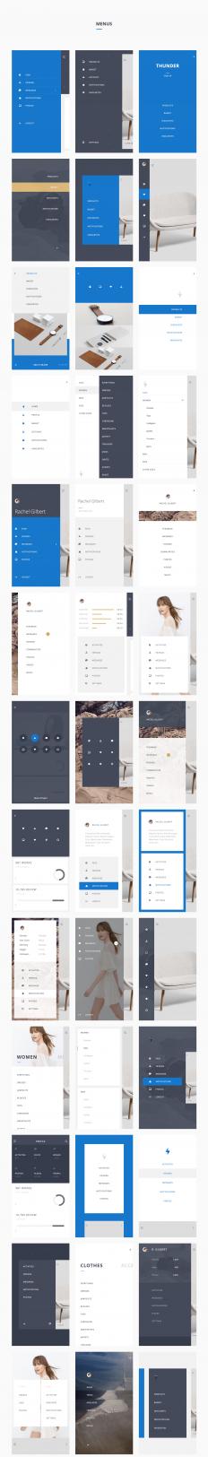 UI8 — Products — Thunder UI Kit