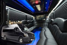 Black Sprinter party limo | allamericanlimo | Pinterest