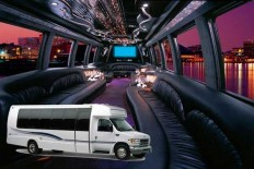 Limousine party bus service | allamericanlimo | Pinterest