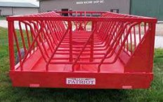 Bale Feeder Wagon - barn world livestock supplies - hay feeders