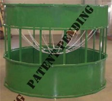 Hay hopper round bale feeder | suspended bale feeder | Barn World