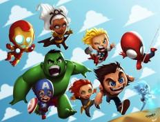 Marvel Kids on