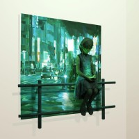 New Sculptures Popping Out of Paintings (+ More) - My Modern Metropolis