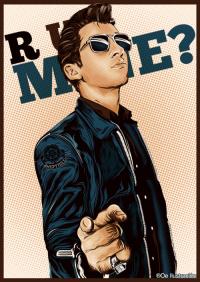 ARCTIC MONKEYS US, oe-ilustracion: Alex Turner - R U Mine? Digital...