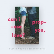 Can I propose you, love? on Inspirationde