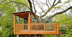 Garden Treehouse | Tiny House Swoon