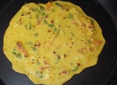 Gujarati Pudlas (Chickpea Pancakes) Recipe