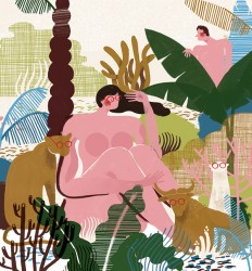 Sari Cohen's Play with Narrative and Adding Style in the Details | Ape on the Moon