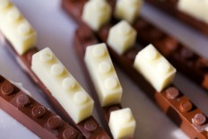 Next level playing with food. Chocolate Lego by... | Art & Design | Nae-Design Sydney Interactive Blog
