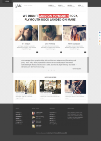 Yield - Creative WordPress Theme - ThemeForest Previewer