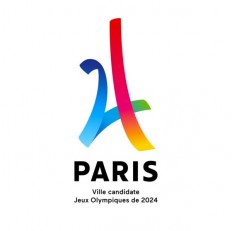 Brand New: New Logo for Paris 2024 Candidate City by Dragon Rouge
