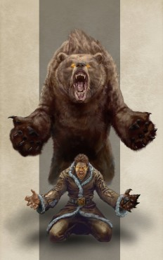 Werebear by razwit on Inspirationde
