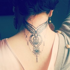 Types of back of the neck tattoos on Inspirationde
