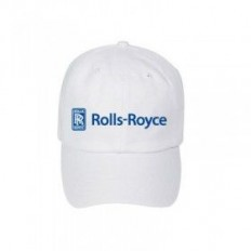 Rolls-Royce Brushed Twill White Cap | ACCESSORIES | Pinterest